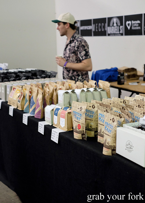 Coffee beans for sale at Rootstock Sydney 2015