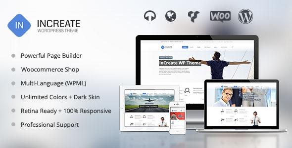 ThemeForest inCreate v1.1.7 - Responsive MultiPurpose WordPress Theme