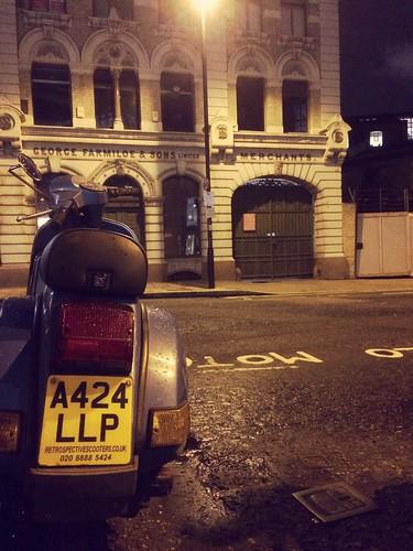 Vespa PX in Clerkenwell