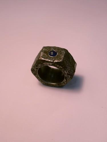 Sapphire Nut Ring - 1