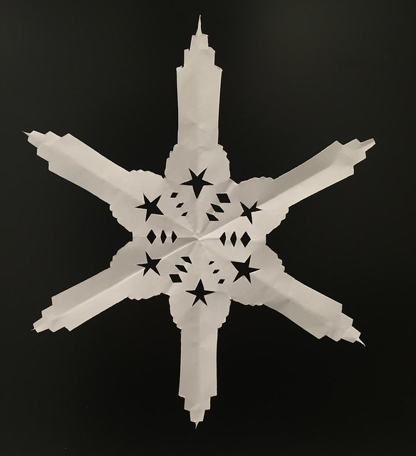 Empire State Building snowflake