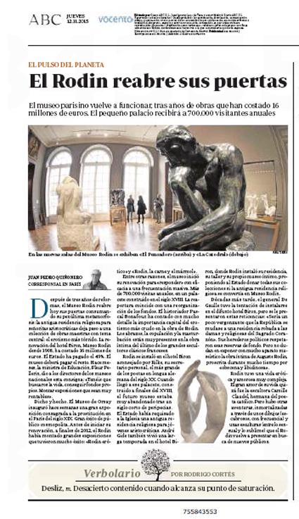 15k12 Museo Rodin Uti 425