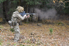 RMAS cadets at Exercise Dynamic Victory