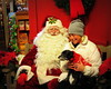 Desi, Lucy and Santa Claus
