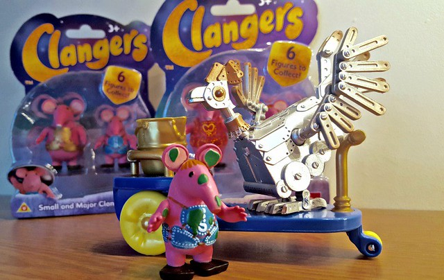 The Clangers Action Figures, gift ideas