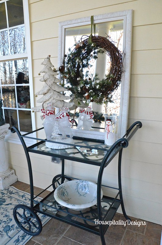 Holiday Tea Cart - Housepitality Designs