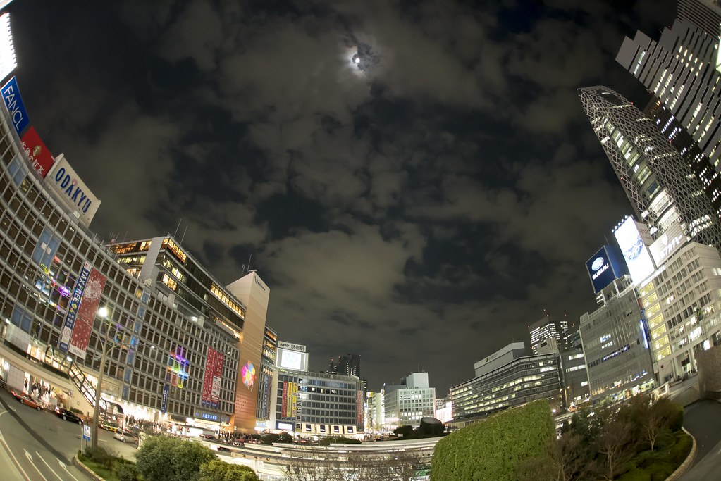 2015.12.22 新宿駅西口