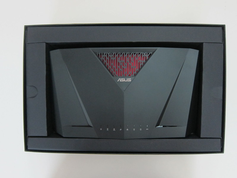 Asus RT-AC88U Router - Box Open