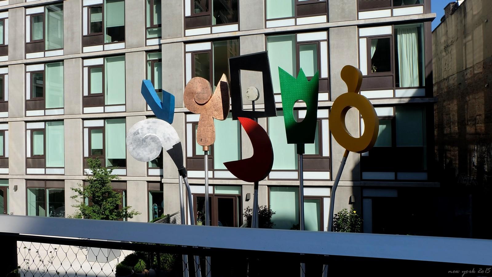 High Line Park, New York City, USA
