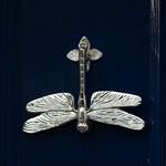 Dragonfly doorknocker