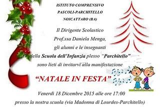 Noicattaro. Natale in Festa Infanzia Parchitello front