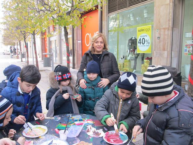 addobbi ragazzi san vito in via roma