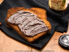 Vegan Nutella Toast