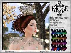 [MUSE] Enchantress Hair - Color