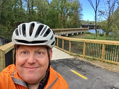 on the bridge near Kenilworth