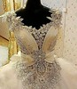 Haute couture wedding dresses like this can be made in your price range by us. Custom designs & replicas available. buff.ly/2dx8HNW