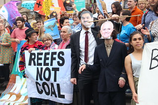 The Adani puppet master at Parliament House - Reef not Coal