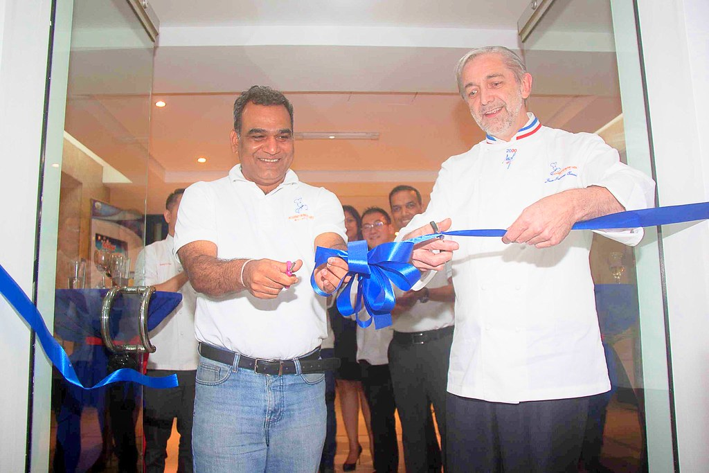 Academy of Pastry and Bakery Arts Philippines Grand Launch with Chef Niklesh Sharma and Chef Jean Louis Arnaud