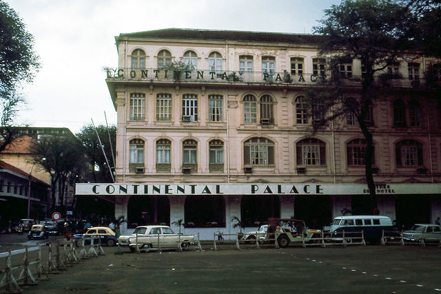 SAIGON 1960s by art_photo - Continental Palace Hotel