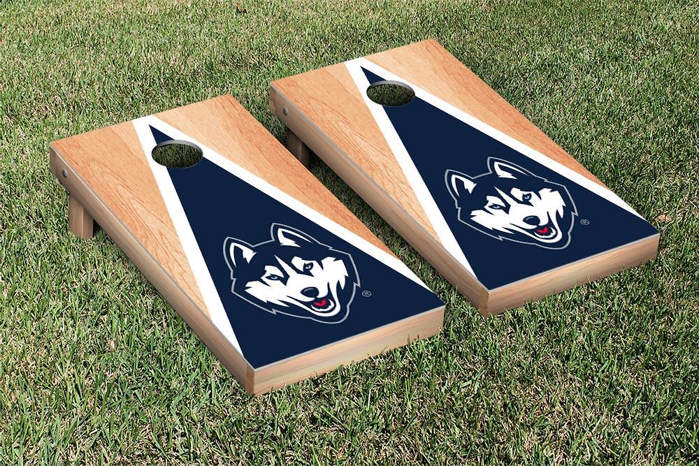 Connecticut Huskies Hardcourt Triangle Version