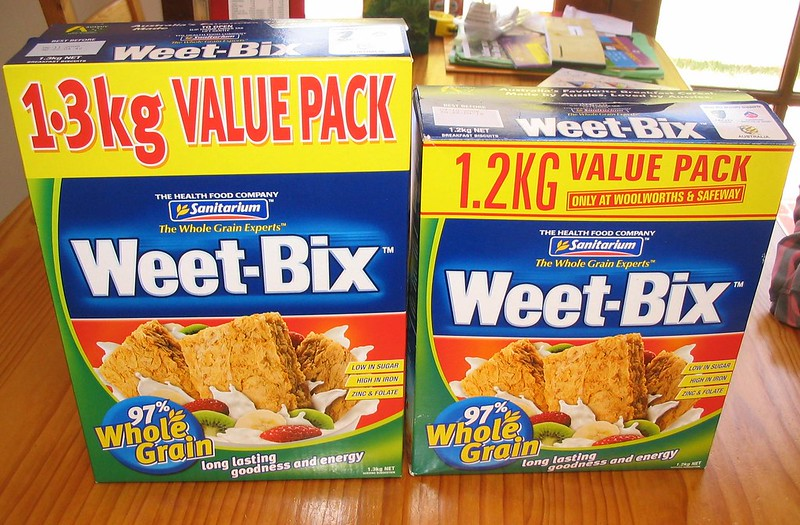 Weetbix: Coles vs Woolworths (2007)