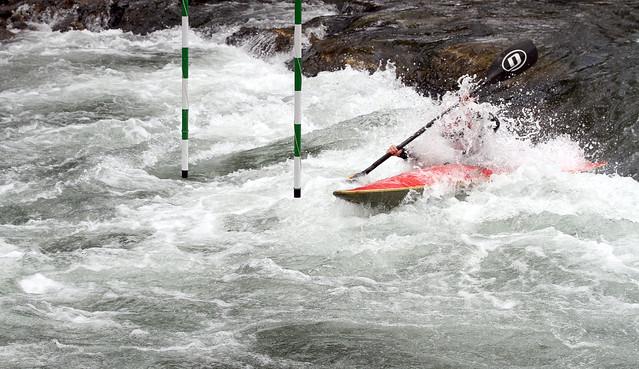 CAMPEONATO DE CASTILLA Y LEÓN DE SLALOM DE PIRAGÜISMO - CANAL DE AGUAS BRAVAS DE ALEJICO (LEÓN) 23.08.15