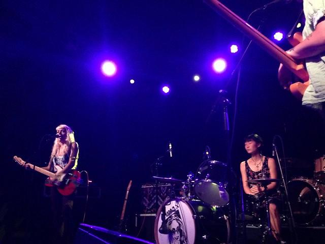 Buffalo Tom and Amanda X, The Sinclair, 6/27/15