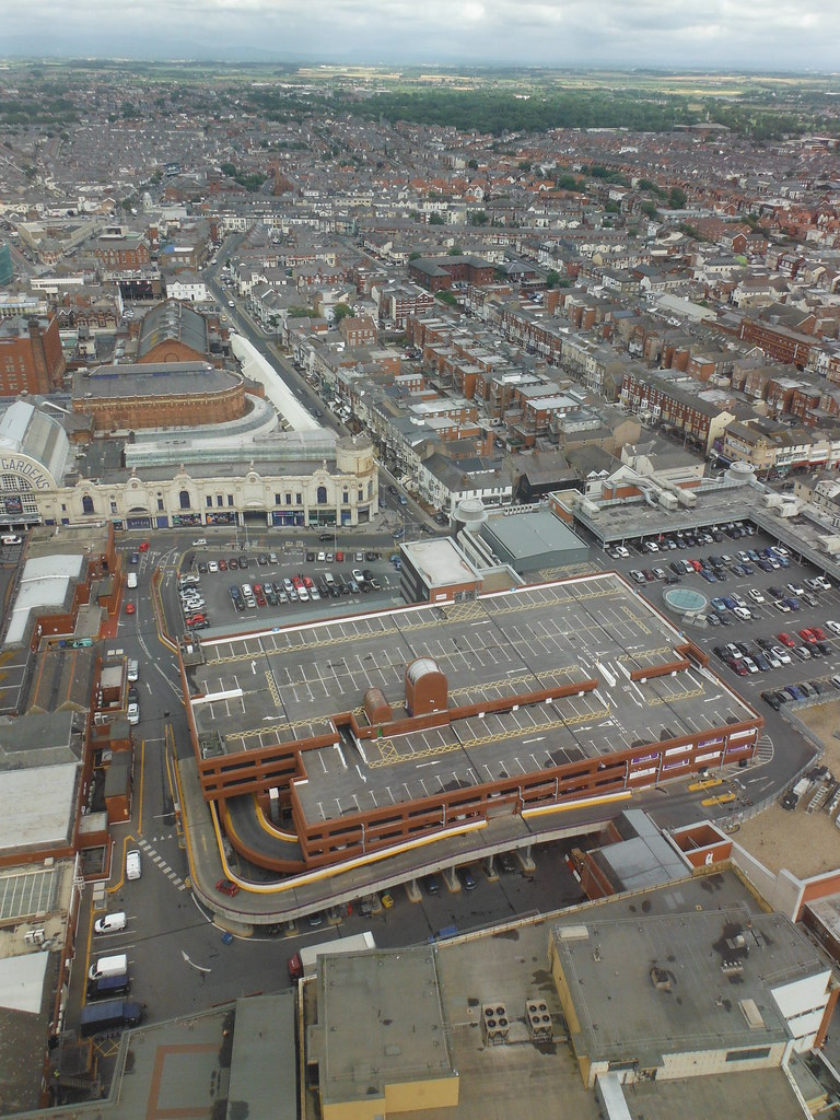 View From Blackpool Tower 8