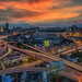 Bangkok cityscape bangkok city of Thailand by anekphoto
