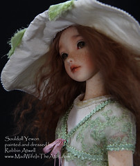 Souldoll Yewon, Painted and Dressed by Robbin Atwell