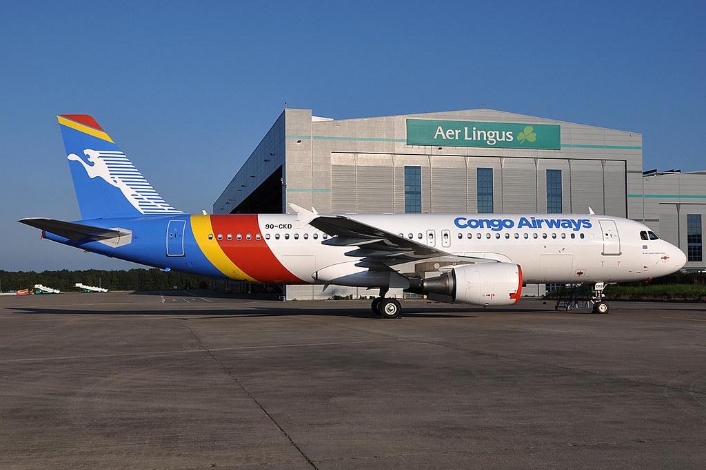 9Q-CKD A320-216  Congo Airways