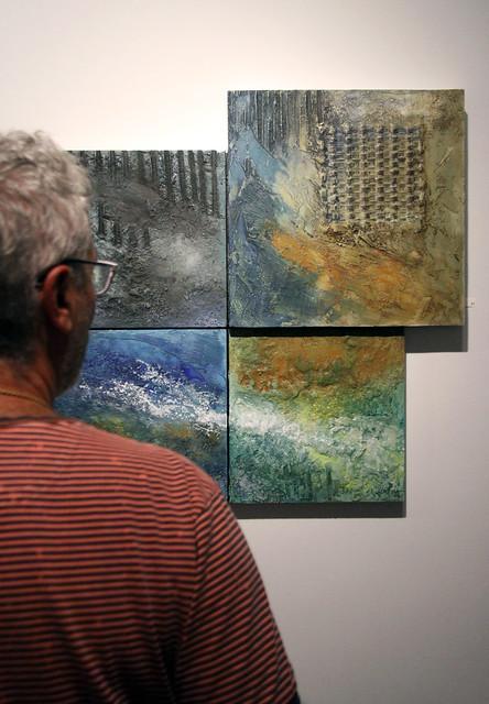 SENTIR, PENSAR, PINTAR - EXPOSICIÓN DE PINTURA DE JOSÉ PORTILLA EN LA GALERÍA ÁNGEL CANTERO - SEPTIEMBRE 2015