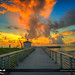 Boynton Beach Inlet Beach Sunrise at Pumphouse by Captain Kimo