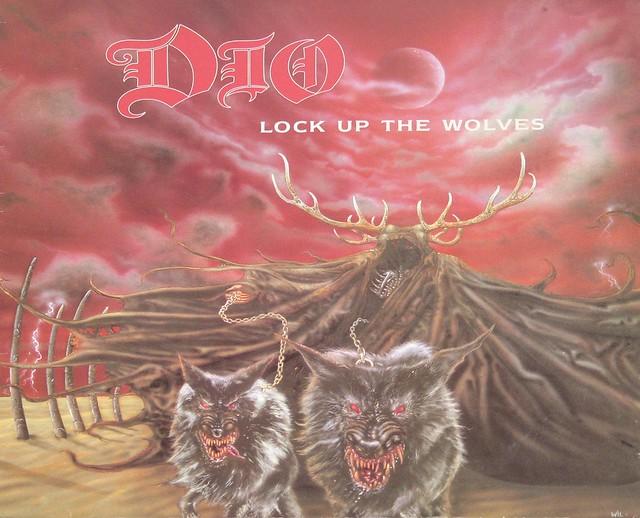 "DIO Lock Up The Wolves UK 12"" Vinyl LP"