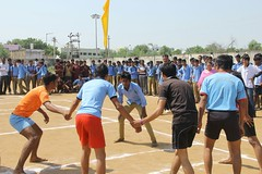 Kabbaddi Compitition on Universal Brotherhood Day by VK Bhilwara