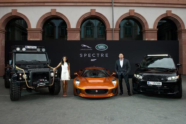 The new James Bond cars