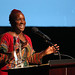 LMU School of Film & Television posted a photo:	Effie Brown accepts the Distinguished Alumni Award.