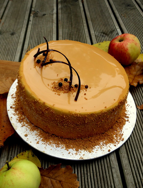 Apple & Caramel Entremet
