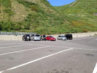rebun-island-sukai-cape-parking