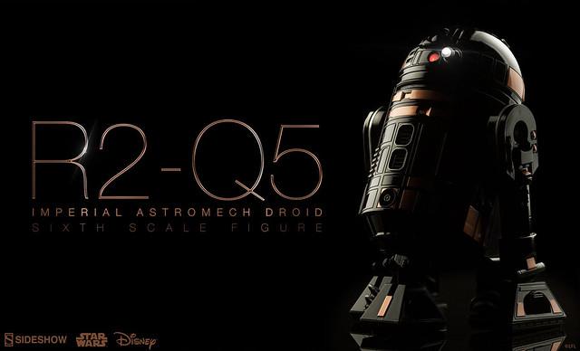 Sideshow Collectibles【R2-Q5 機器人】星際大戰 1/6 比例作品
