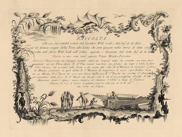 001-Raccolta delle cose più notabili veduta…1766-67- Filippo Morghen- Yale University Art Gallery