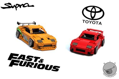 Zero to hero - Fast And Furious Toyota Supra - 10-wide - Lego