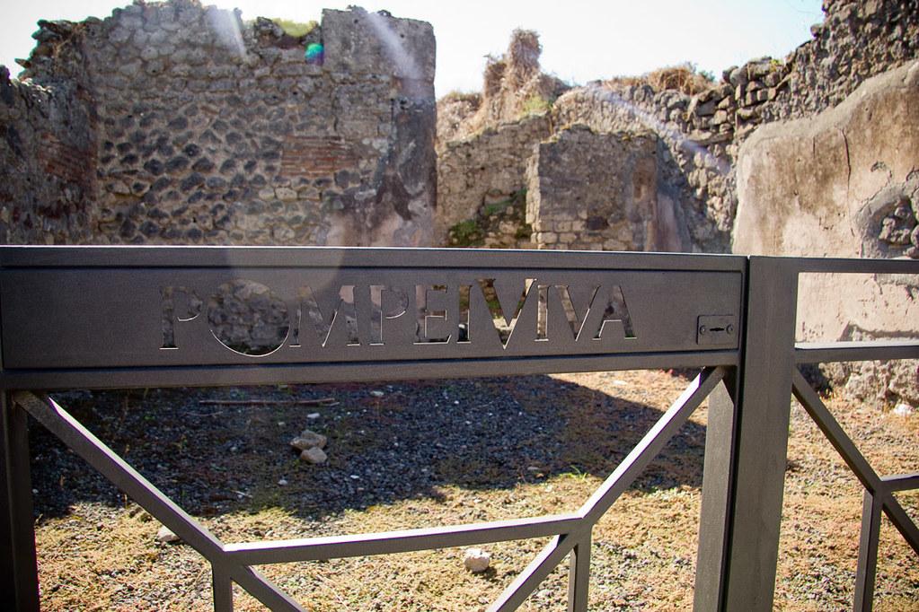 Touring Pompei