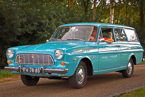 Ford Taunus 12M P4 Super Kombi 1.5L 1965 (3917)