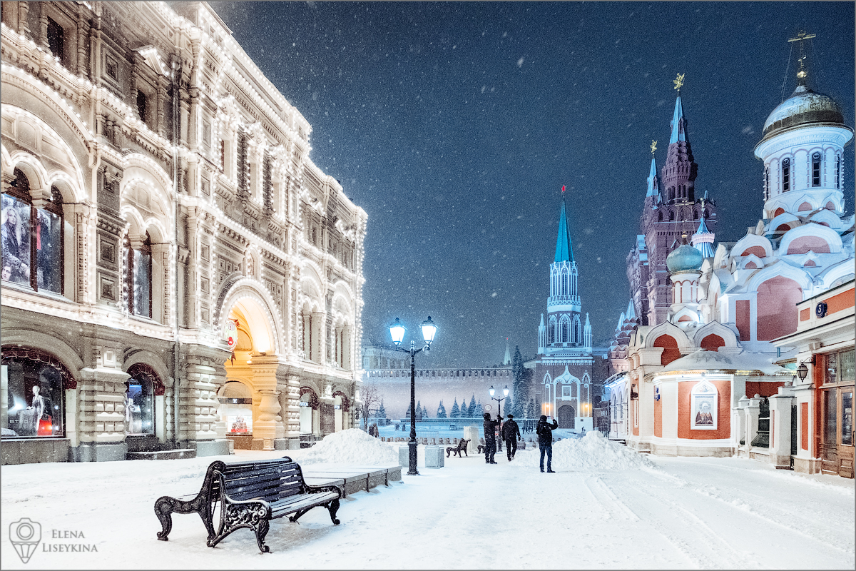 Winter in Moscow