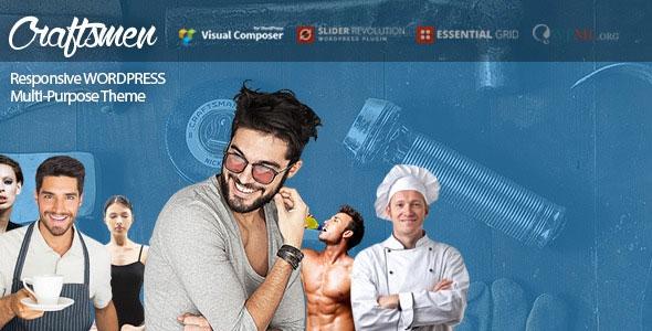 ThemeForest Craftsmen v1.0.3 - WordPress Theme for Every Business