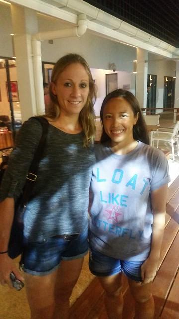 With Daniela Ryf, Ironman World Champion