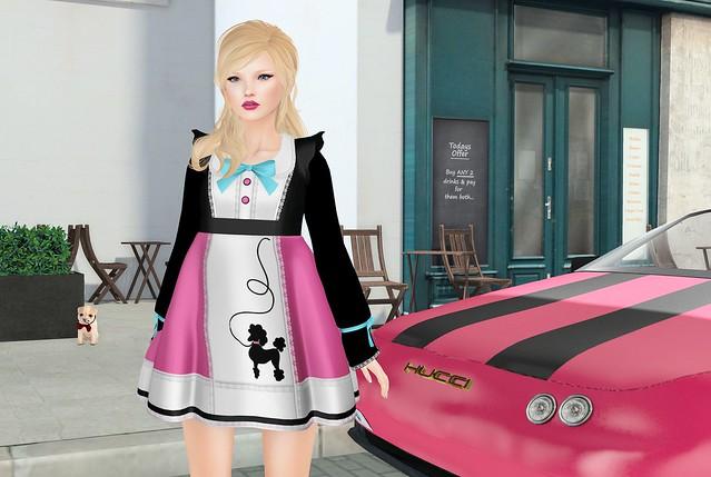 my poodle dress...