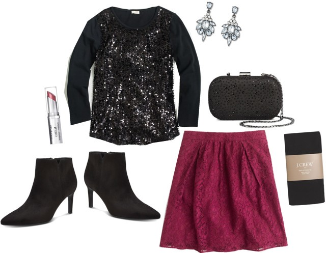 What I Wish I Wore, Sequins and Lace; Style On Target