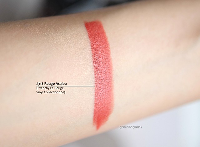 Givenchy Le Rouge Rouge Acajou swatch